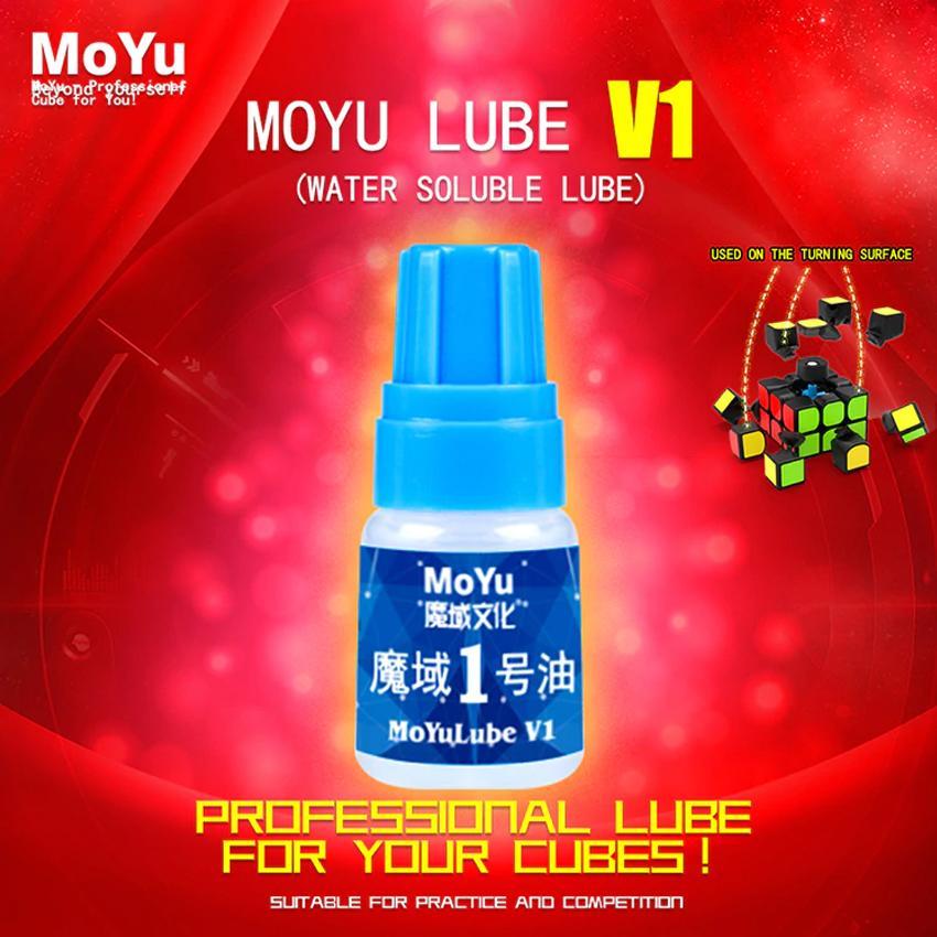 Lubricating Moyu Lube V1 Cube Oil Rubik's 3x3x3 4x4x4 5x5x5 6x6x6 7x7x7