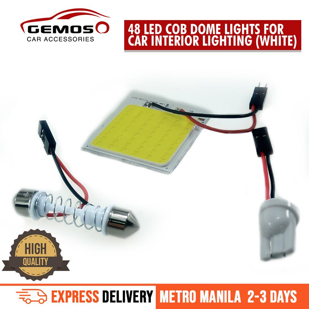 Car Lighting Electrical For Sale Parts 55 Chevy Tail Light Wiring 48 Led Cob Dome Lights Interior Lightingwhite