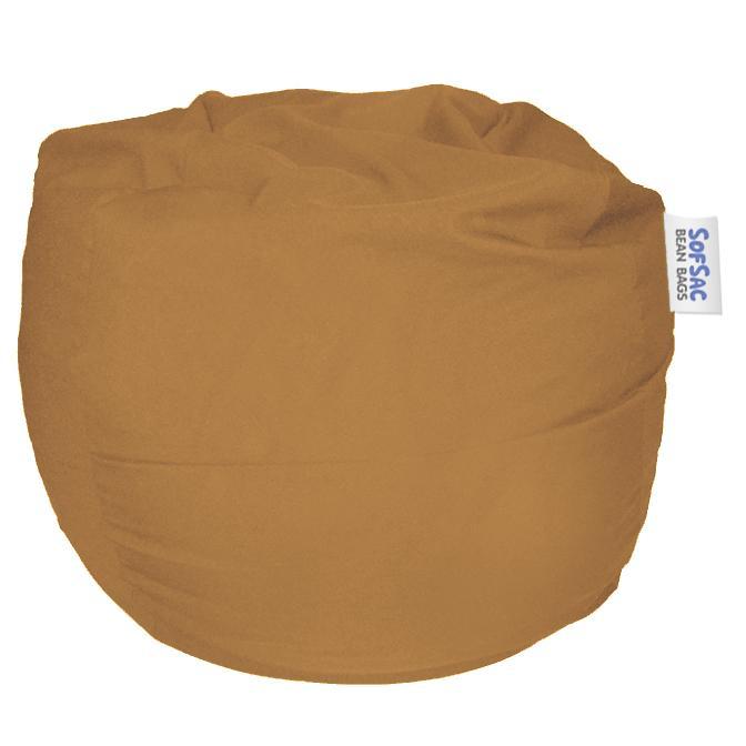 Sofsac Round Polyester Bean Bag Chair Mini