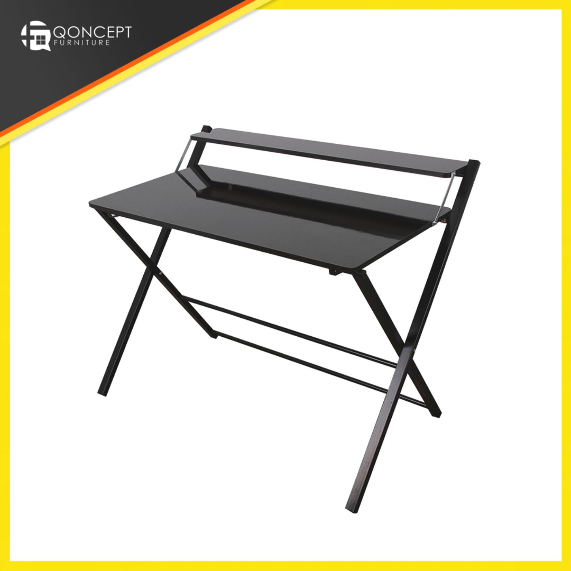 Qoncept Furniture Foldable Office Table 100x51