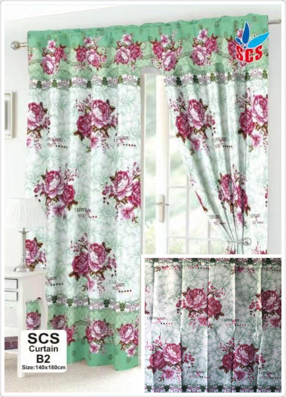 1pc Fashion Home Curtain B2 140x180cm