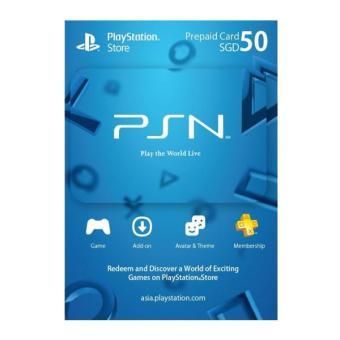 PSN 50 SGD Digital Code