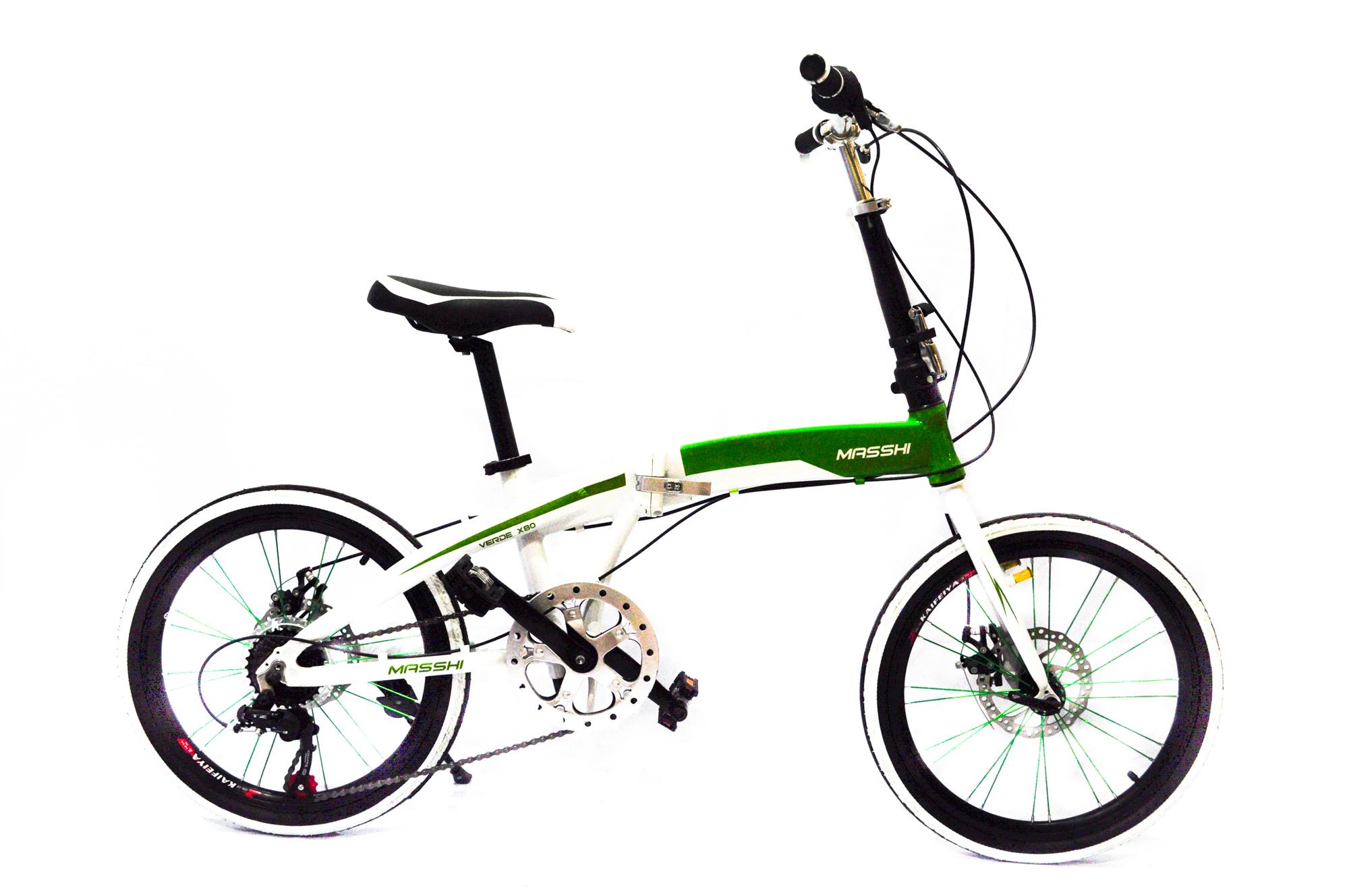Masshi Folding Bike 20 Alloy Frame With Double Wall Rim