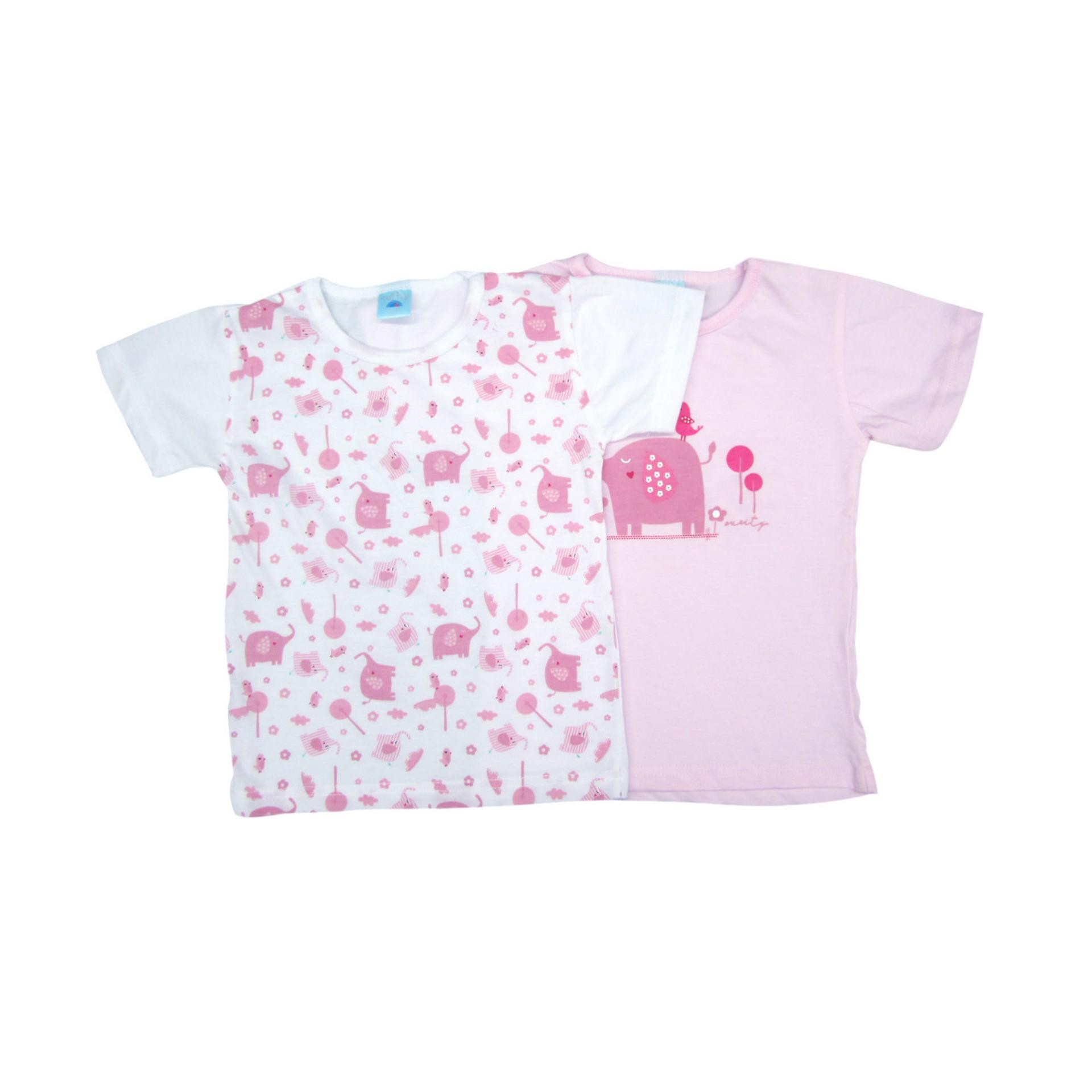 2 In 1 Curity Toddler T-Shirt For Girls Animal Printed 2t By Felcris.