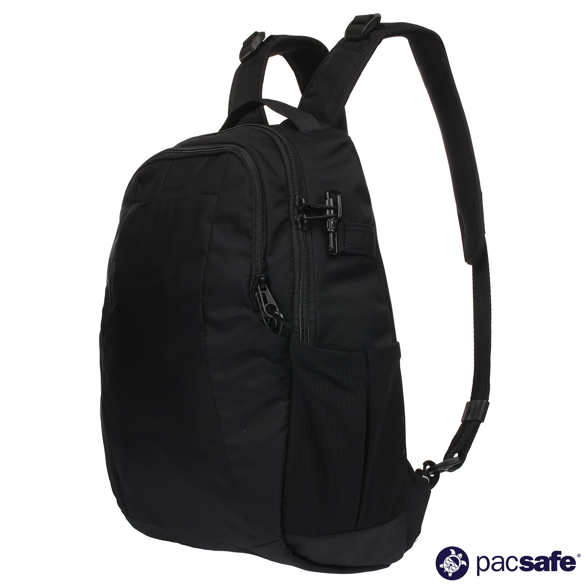 e22185d727ed Pacsafe Metrosafe LS350 15L Anti-Theft Backpack (Black)