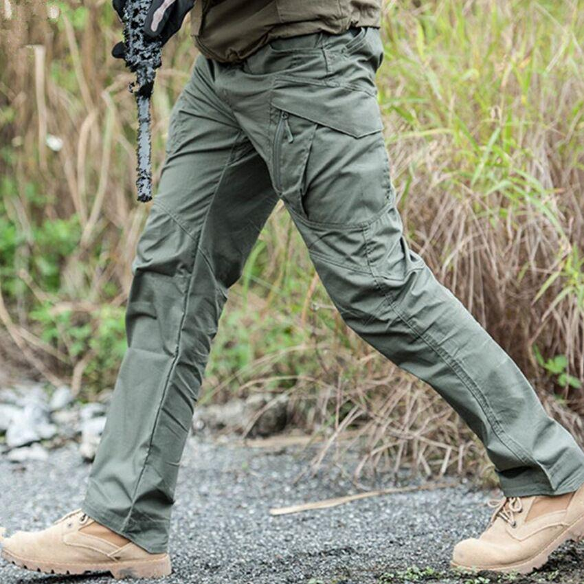 5ede27c5f406 Hot Sale Men s Waterproof Tactical Warfare Pants Men Cargo Silm Pants  Casual Men s Swat Fighting Pants