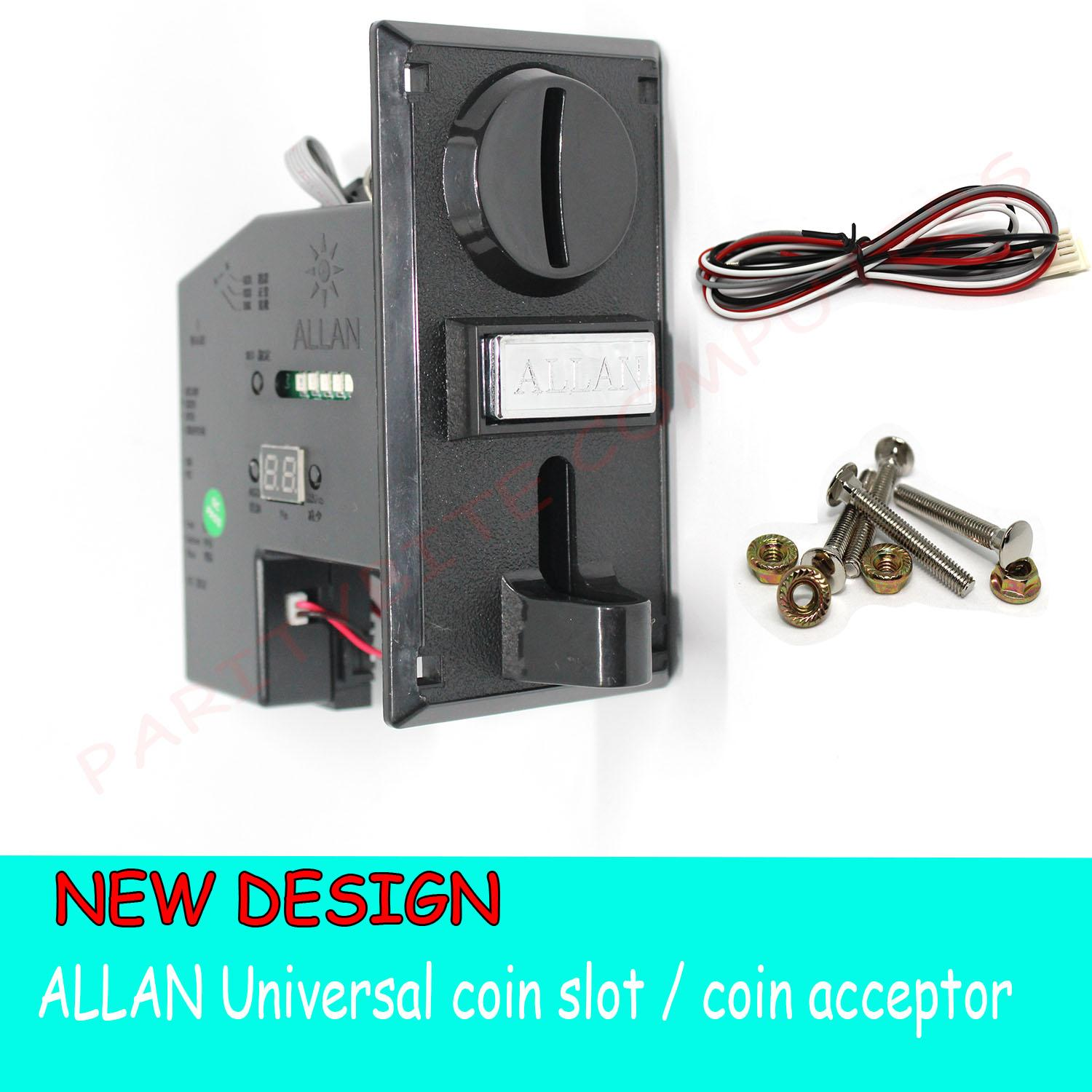 Build Your Own Pc For Sale Building Prices Brands Specs In Wiring Allan Universal Coin Slot Acceptor New Design