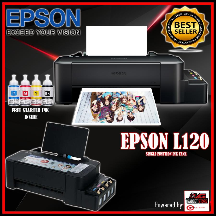 Epson Philippines Price List Printer Scanner Ink Print Head 1390 L1800 New Original L120 Continues System Premuim Top 1 Free Inside 4 Color