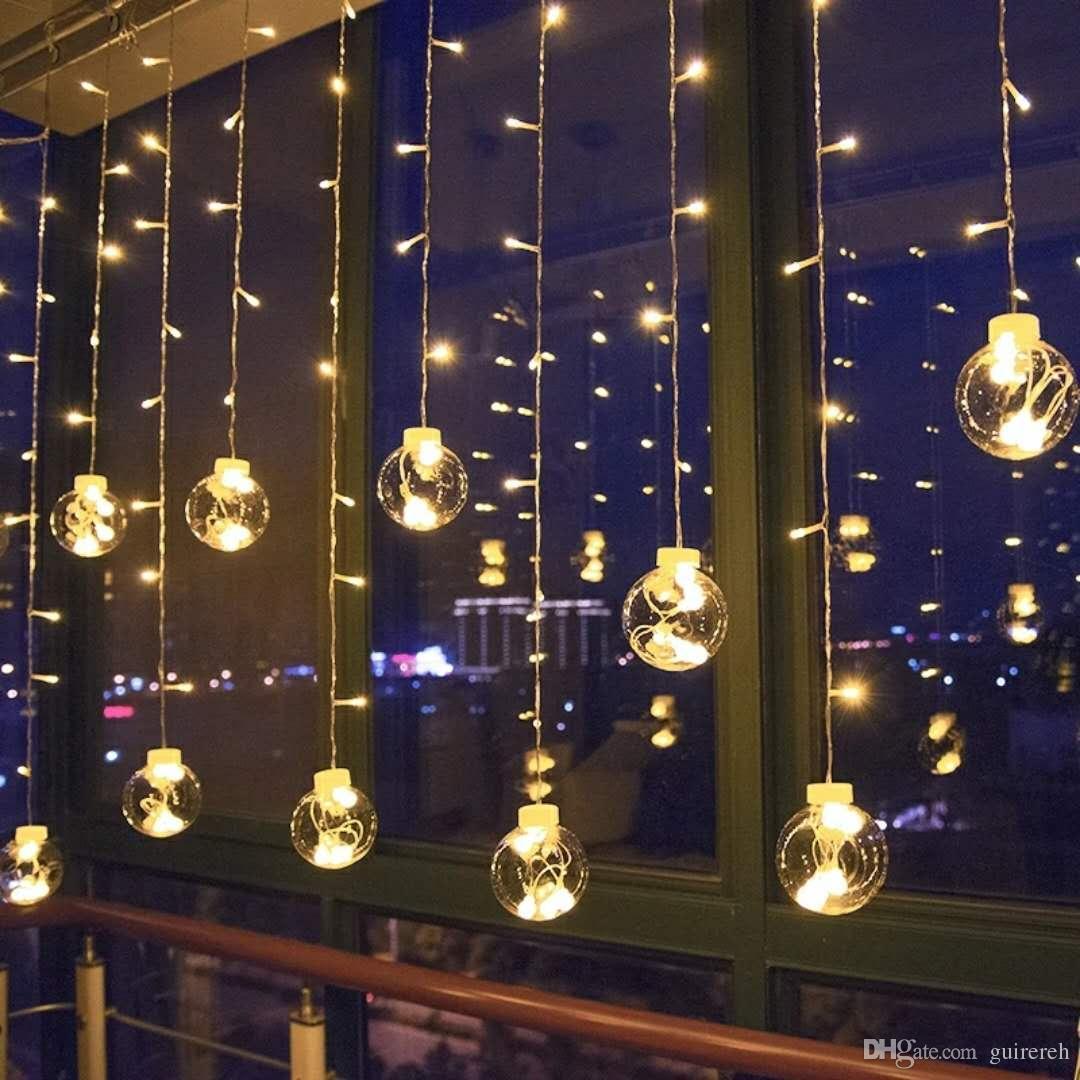12 pcs wish ball led lights christmas balls lights
