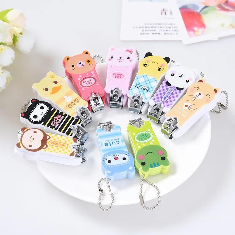 COD Cute Cartoon Nail Cutter Cosmetic Nail Clippers Random Philippines