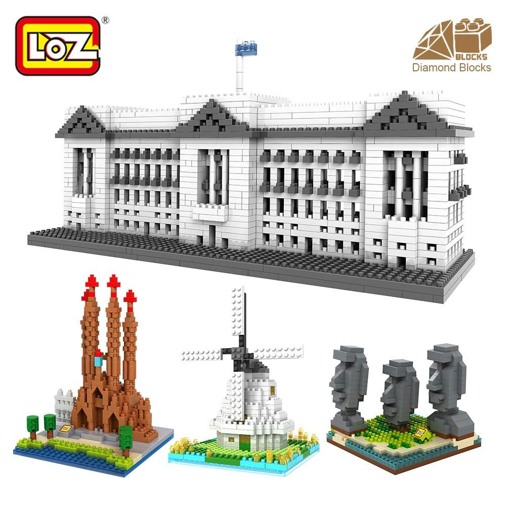 Buy Sell Cheapest Loz Diy Diamond Best Quality Product Deals Large 9432 Blocks Architecture Toy For Kid Building Bricks City Toys Mini Nano