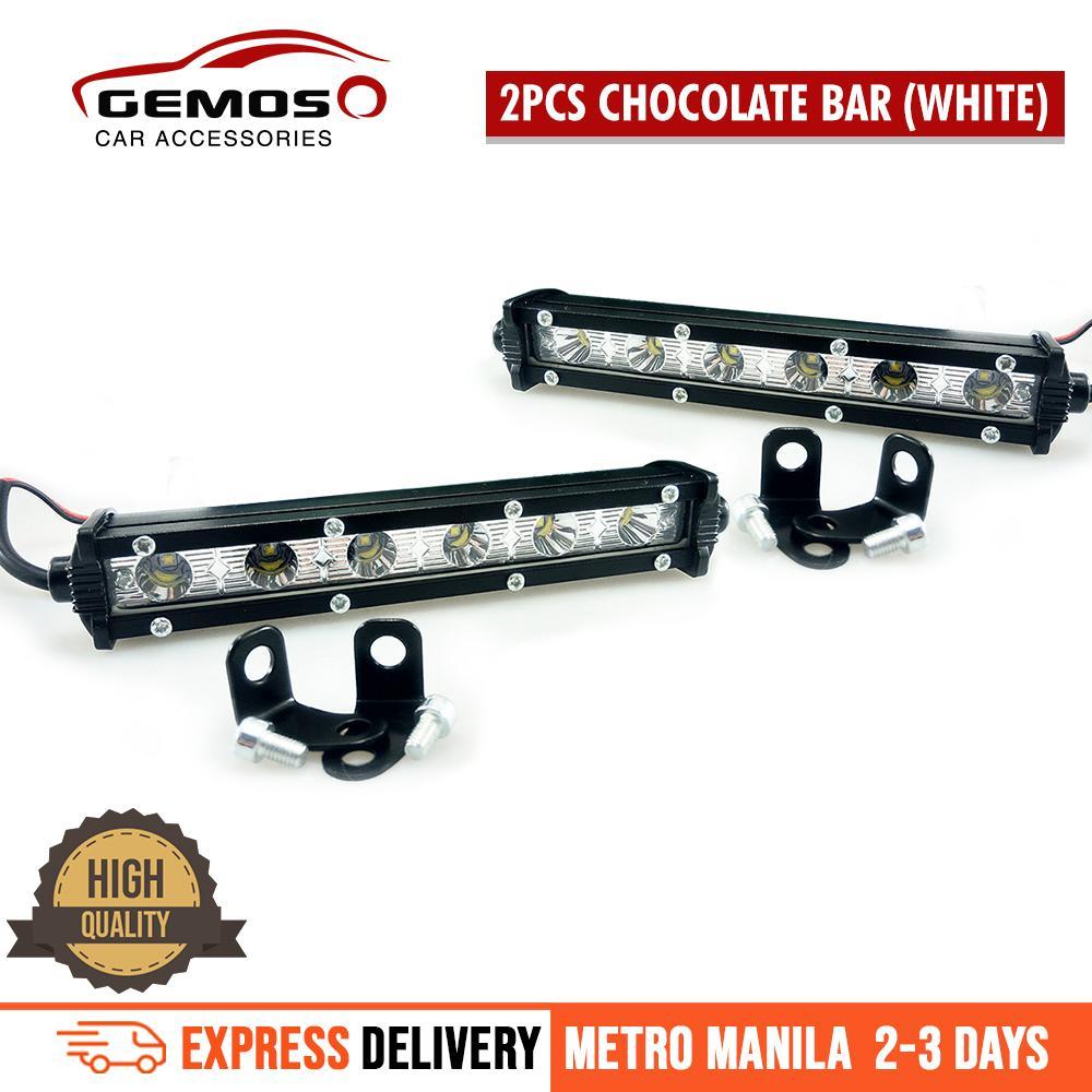 2pcs 7 inch 18W Cree Chips LED Spot Ultra Slim LED Light Bar Work lights(