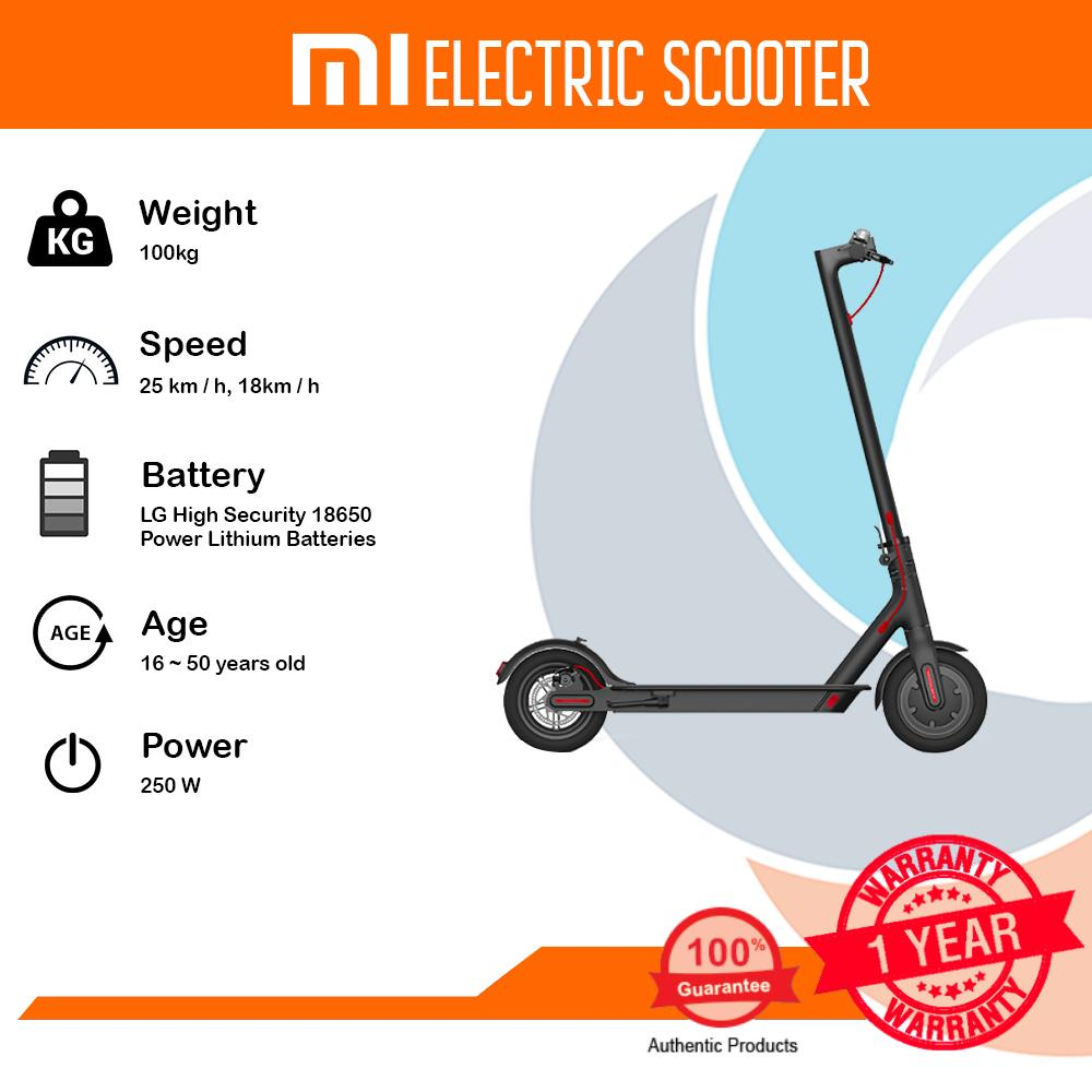Electric Scooters For Sale E Scooter Online Brands Prices Wiring Schematic Xiaomi M365 Mi Black 25 Km H 18km