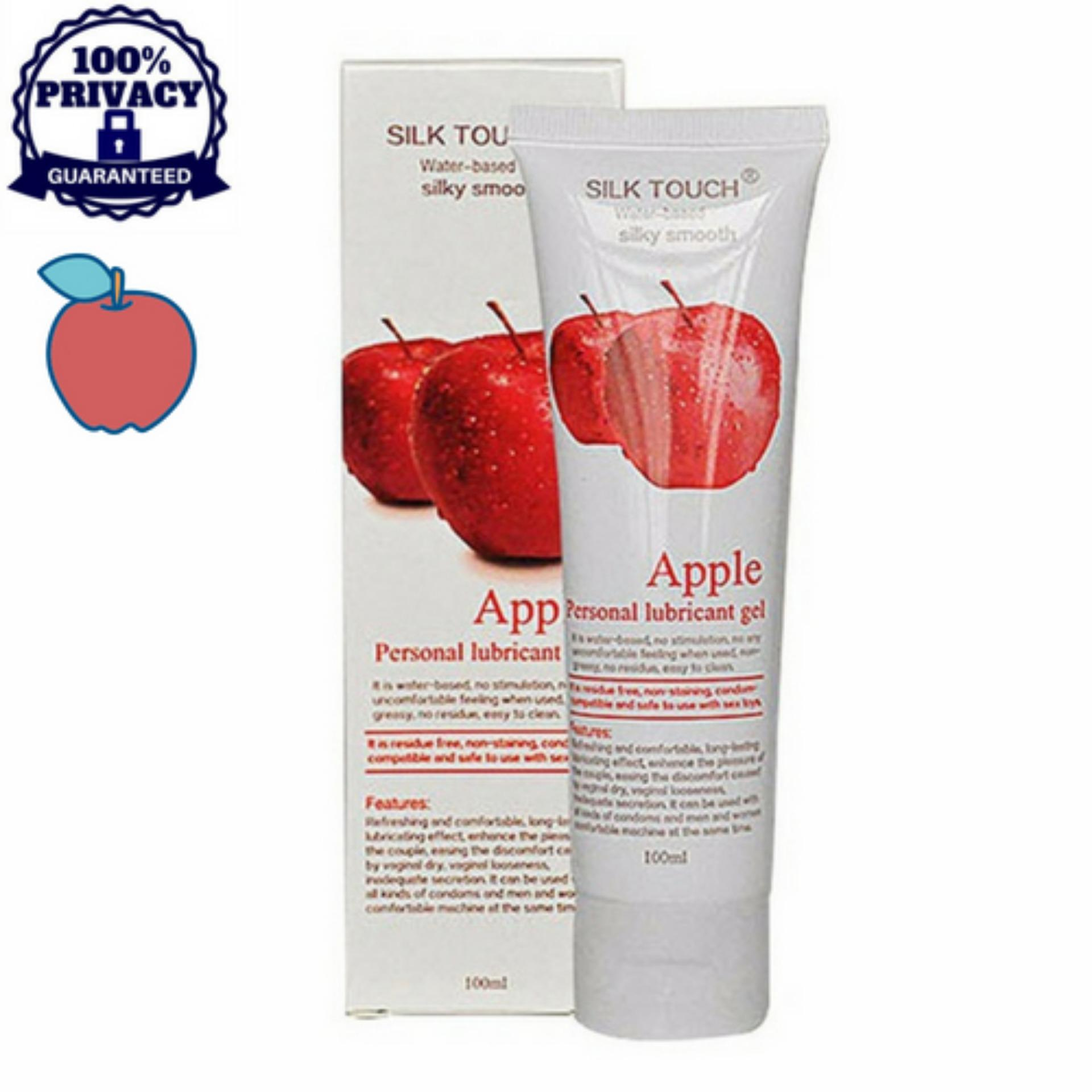 Secret Corner Silk Touch 100ml Water Based Flavored Lubricant - Apple By Secret Corner.