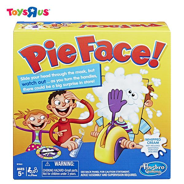 Hasbro Games Pie Face By Toys R Us.