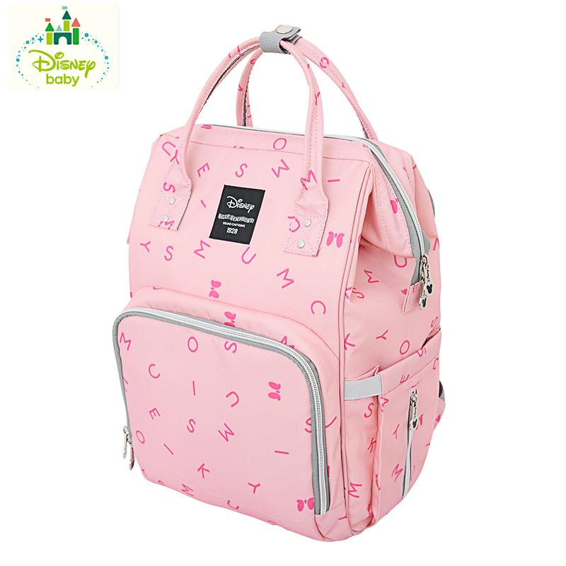 5188d9a4f60 Disney diaper bag bags 2018 New Style Fashion Multi-functional Large  Capacity Backpack Handbag out