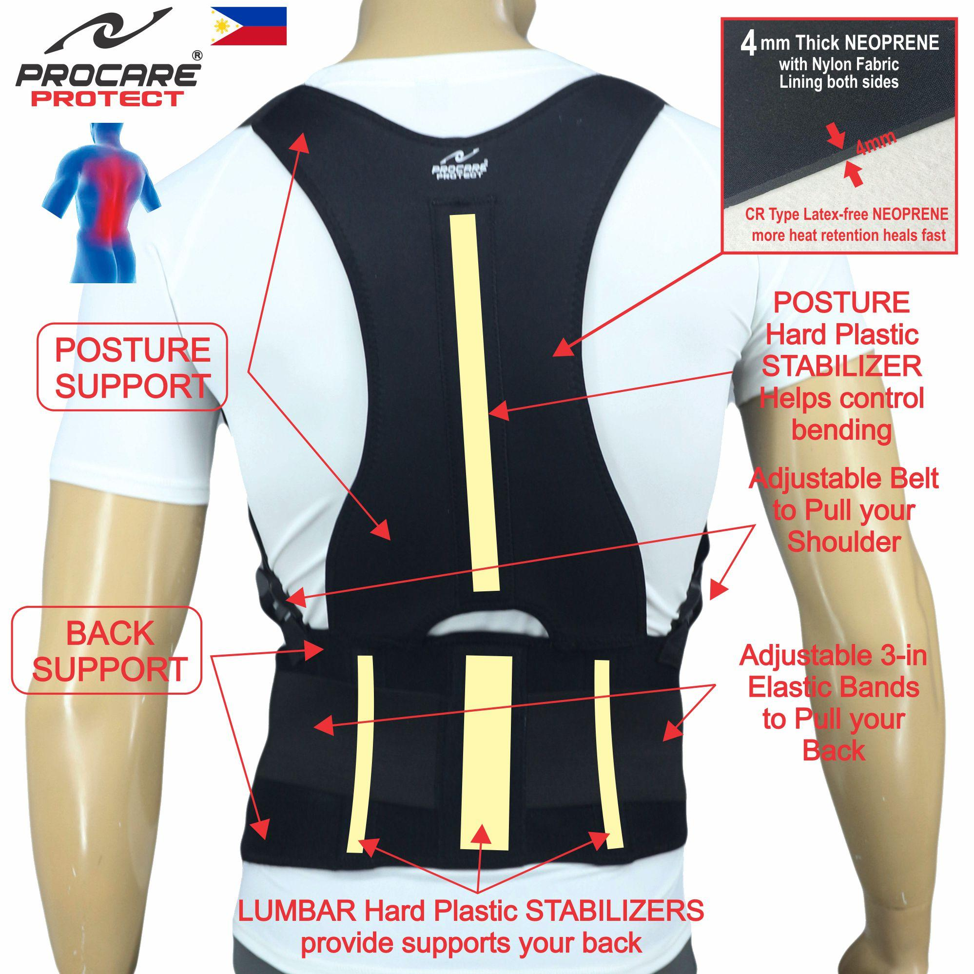 Buy Sell Cheapest Support Posture Back Best Quality Product Deals Power Magnetic Corset Procare Protect Bs11 Total Brace With Upper And Lower Spine