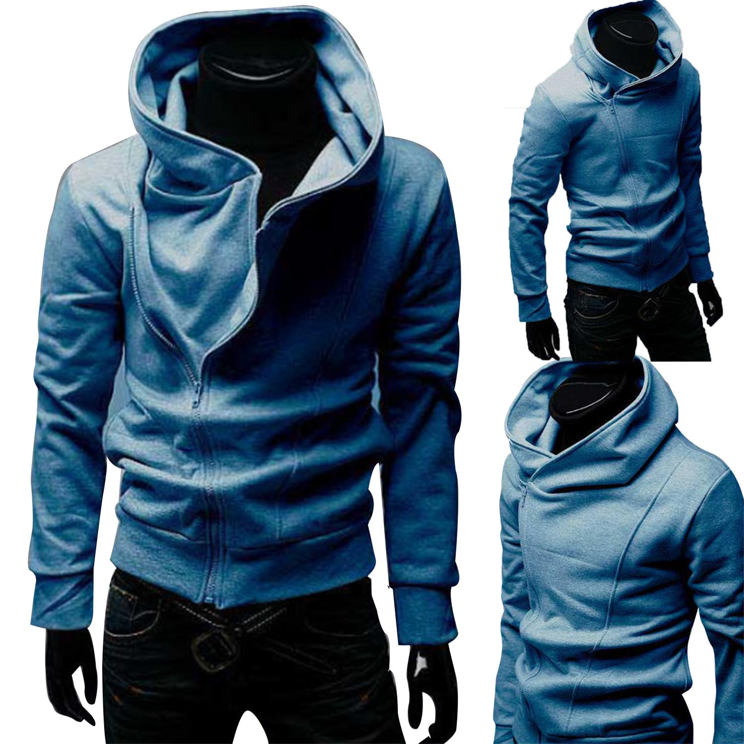 Slim Fit Hooded Jacket Slim Fit Zipped Jacket Zip Hooded Jacket Men Zipped Jacket Zip Up Hoodie For Men Zipper Hooded Hoodie Zip Up Hoodie For Men Assassins Creed Cosplay Hoodie Slim Fit Casual Coat Hoodies Coat Sports Suit Casual Fashion Mens Clothing By Novo Cosmetics.