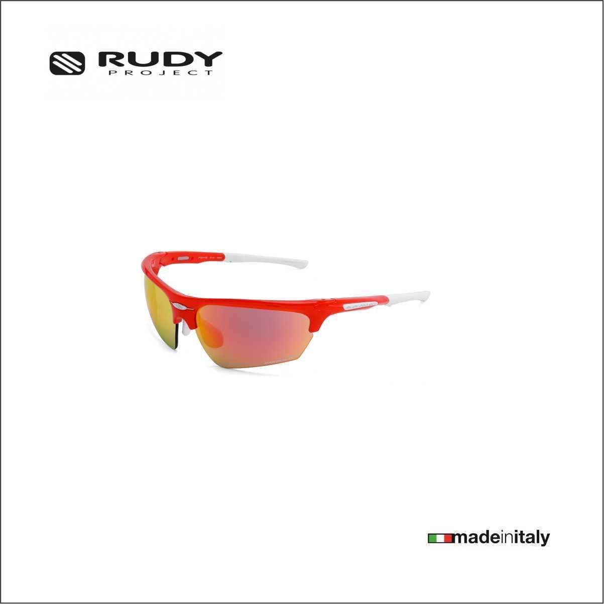 f8b881e8b6a Rudy Project Noyz Performance Eyewear in Tangerine with Multilaser Orange  Lenses SP044043MW