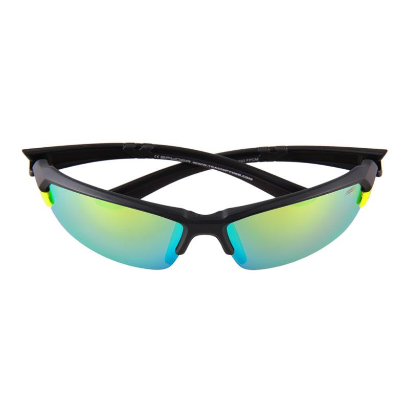 0304392032 Spyder Interchangeable Sports Eyewear Slider 3S092 PCM (Black Frame Mirror  Yellow Lens)