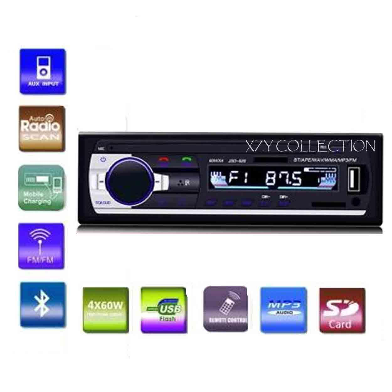 Car Stereo For Sale Cars Online Brands Prices Clarion Radio Audio On Panasonic Wiring Harness Bluetooth Fm Mp3 Aux With Usb Sd