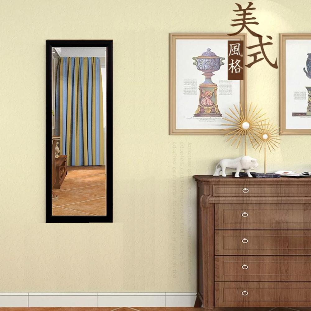 Dressing Mirror Makeup Wall Wood Frame