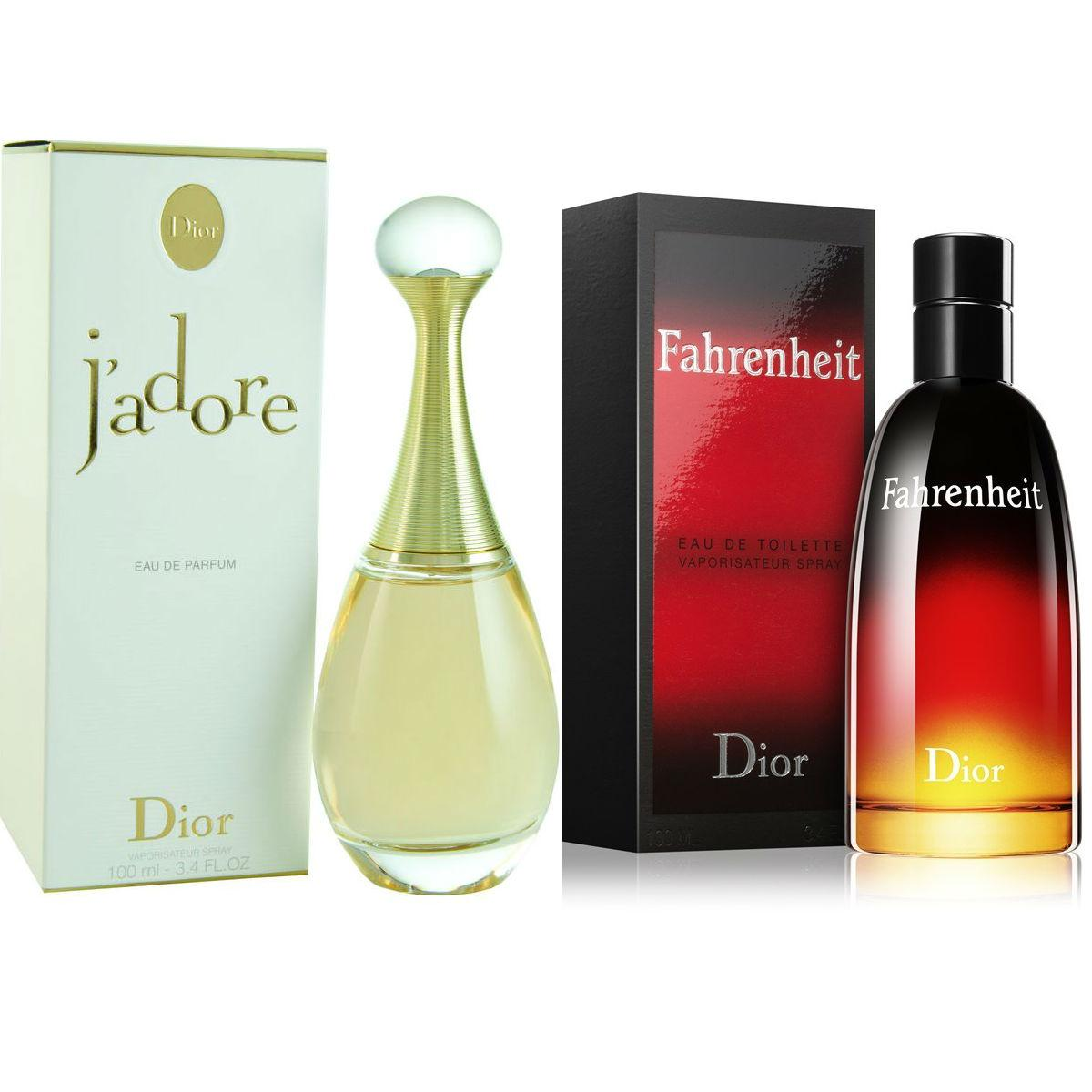 d7dfc68adb Dior J`Adore Eau De Parfum For Women 100ml And Dior Farenheit Eau De  Toilette Perfume for Men 125ml