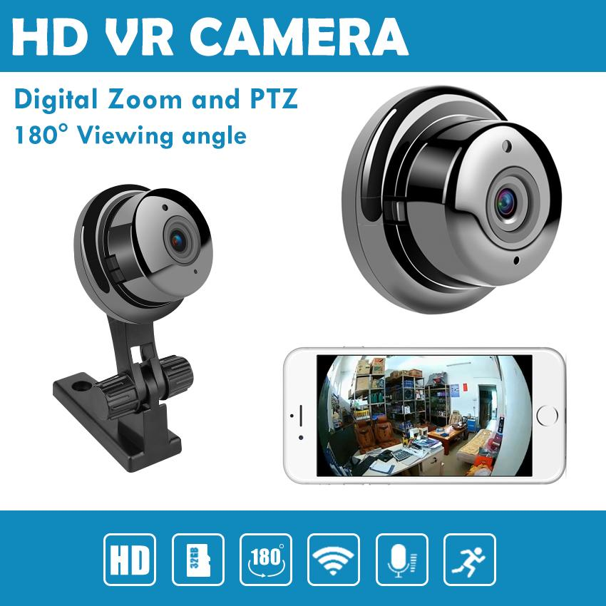 Q2 HD CCTV 180°Viewing Angle VR Camera (With Charge+Cable)