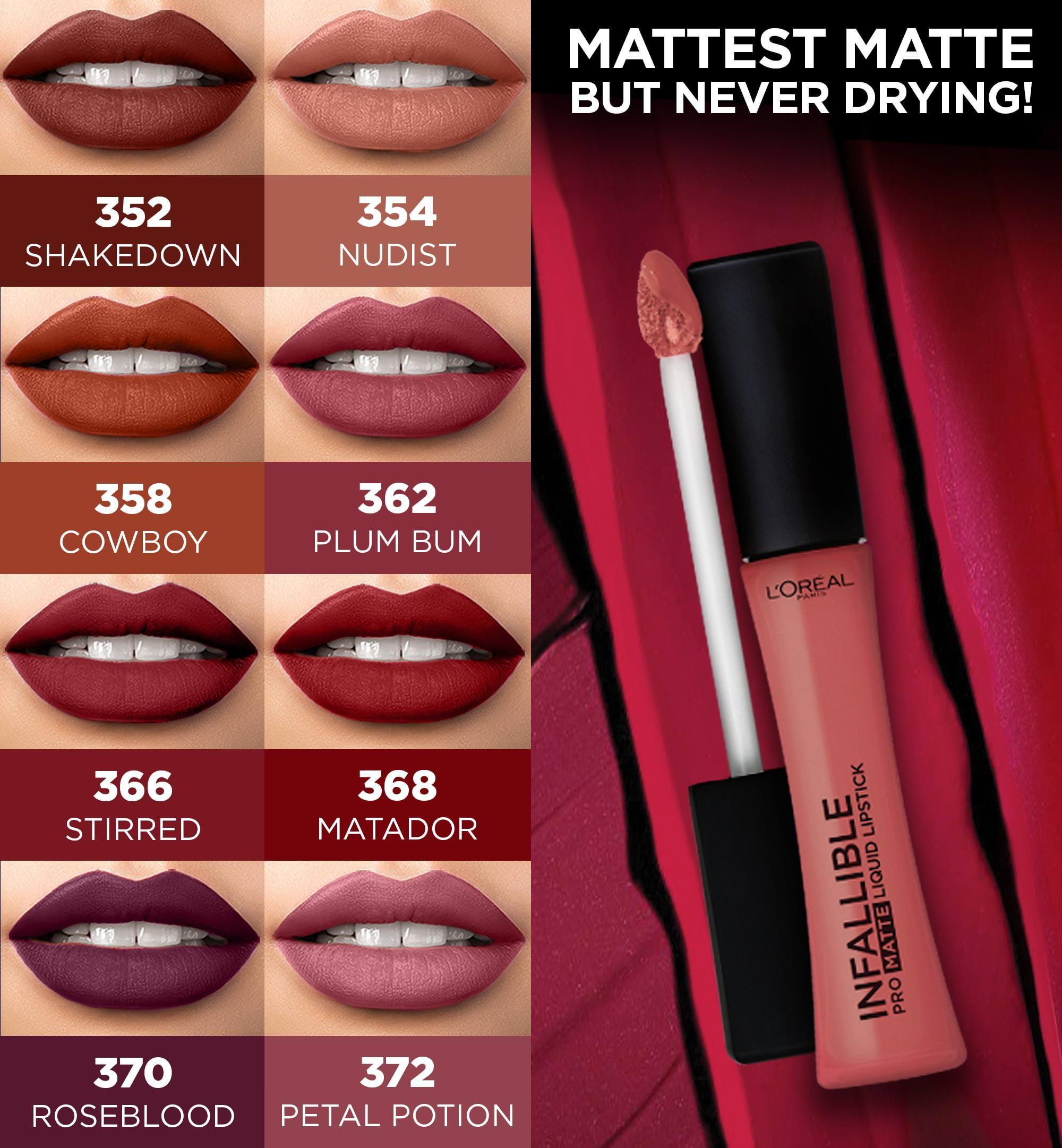 L Oreal Paris Infallible 16hr Pro Matte Liquid Lipstick Beauty Essentials Lazada Ph