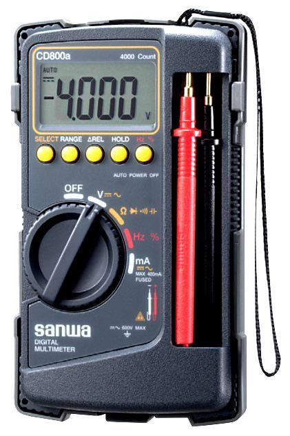 Sanwa CD800A Digital Multimeter Multitester (Japan Brand)