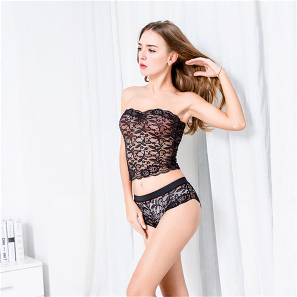 91aab4a2e4 Sexy Lingerie Suit See-through Lace Sleepwear Seductive Nightdress Nightwear