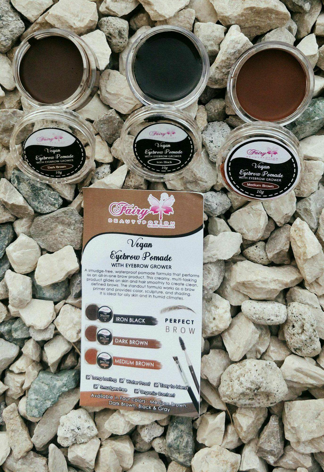 Fairy beauty potion ( Dark Brown with free brush) Philippines