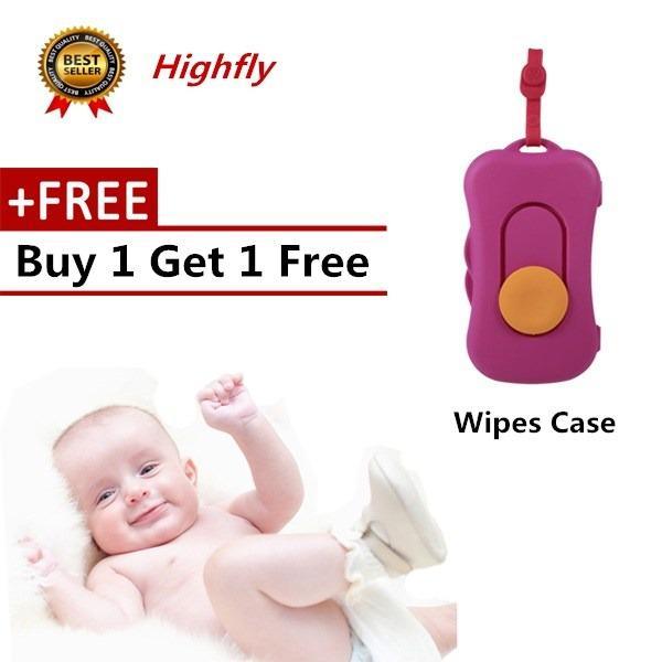 Portable Baby Kid Wipe Storage Case Box Plastic Travel Wet Wipes Holder Dispenser Organizer 4 - Intl By Highfly.