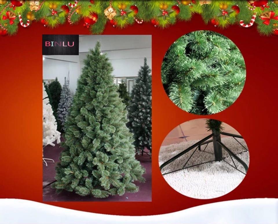 7ft Sugar Pine Christmas Tree 210CM BINLU