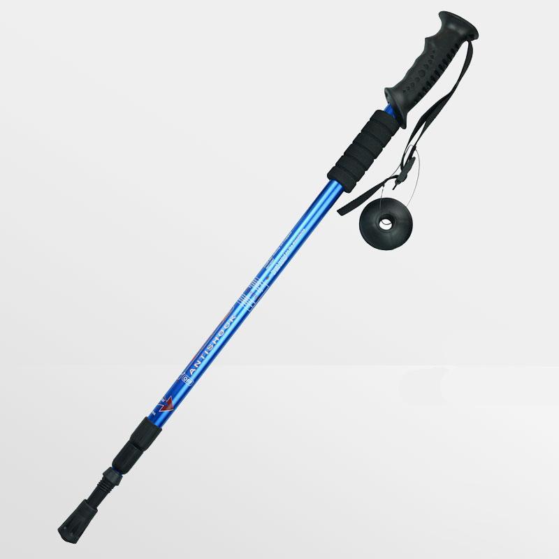 4bc623b149a Adjustable Anti Shock Canes Walking Hiking Sticks Trekking Trail Pole