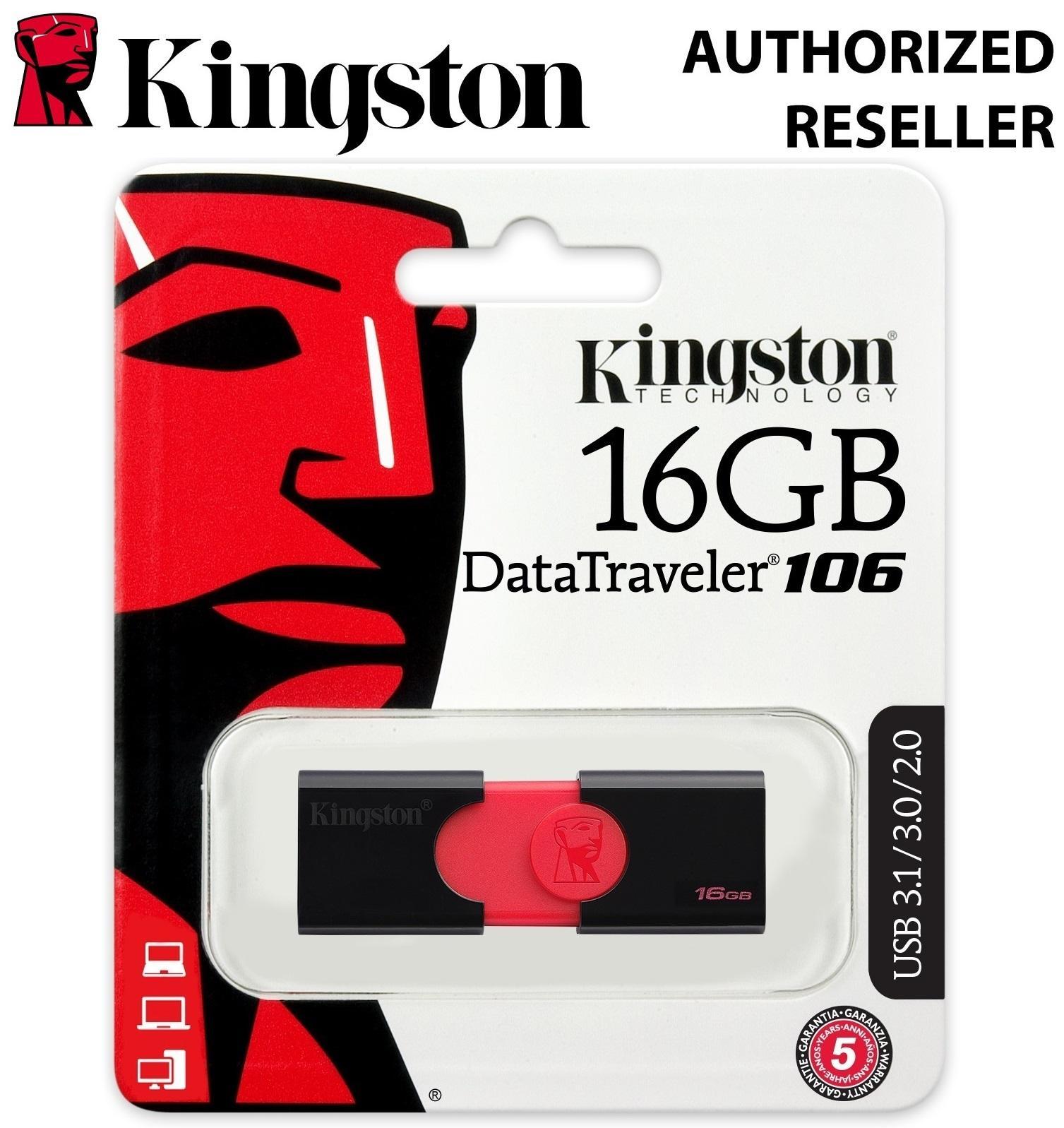 Kingston Philippines Usb Flash Drives For Sale Prices Disc Toshiba 16 Gb Datatraveler 106 16gb 31 Drive Black