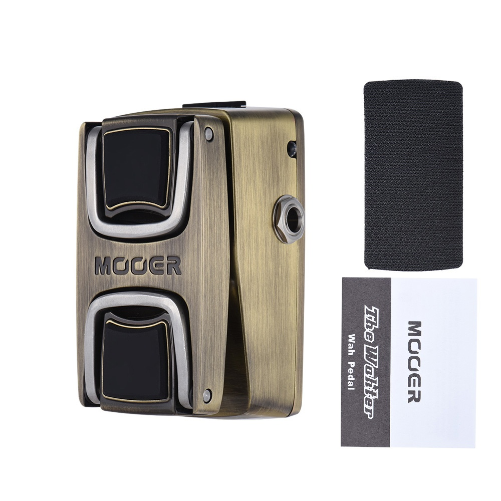 MOOER The Wahter Wah Guitar Effect Pedal Pressure Sensing Switch Full Metal  Shell Outdoorfree - intl