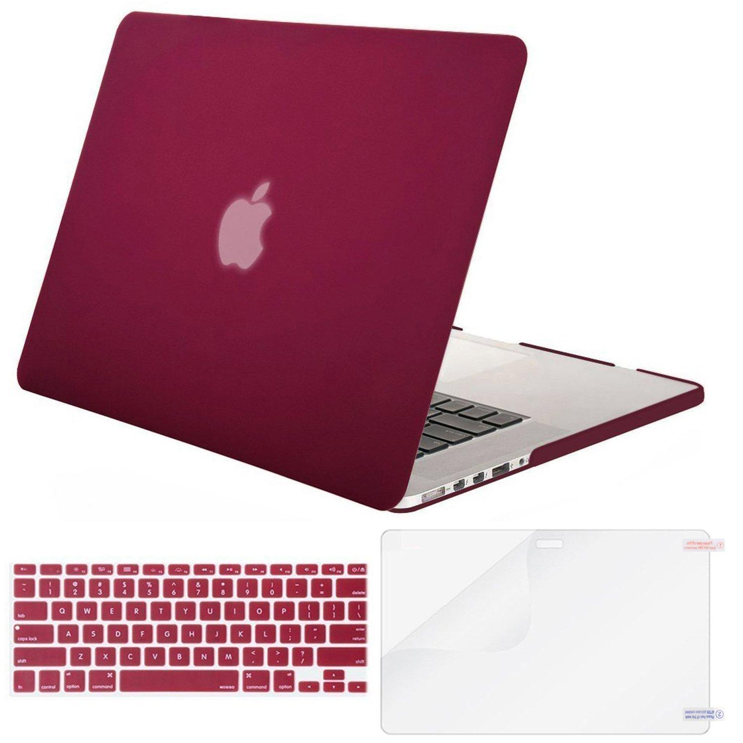 Mac Hard Covers For Sale Apple Prices Brands Specs Original New Rubber Feet Macbook Pro 13 15 17 2009 2012 Year Plastic Case Shell With Keyboard Cover Screen Protector Compatible Air Inch