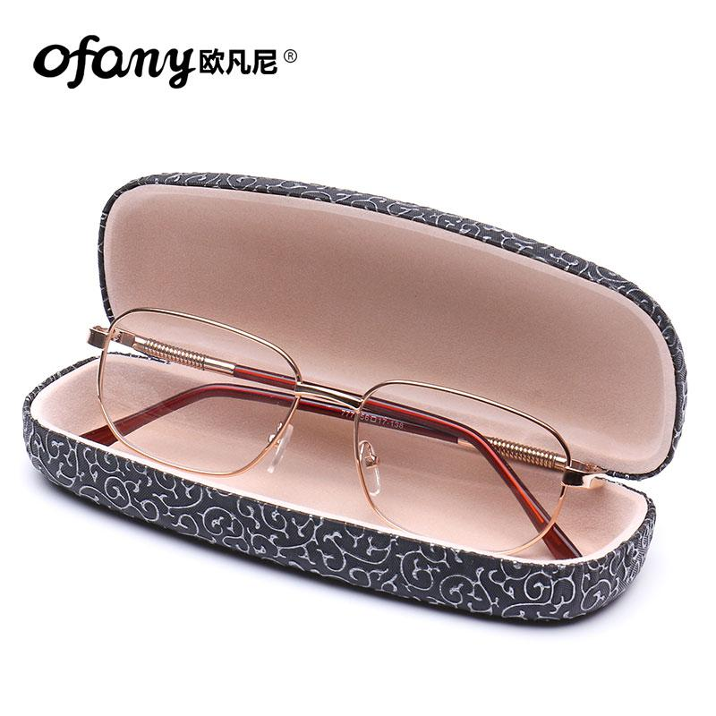 cf1cd113e1 Presbyopic Glasses man Elegant Metal Spring Mirror Leg Presbyopia Glasses  High-definition Schick Full Frame
