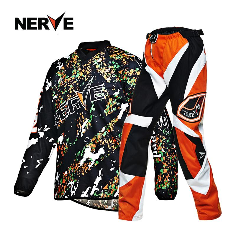 Germany Nerve Off-Road Pants Sai Che Ku Off-Road T-Shirt Service Summer Motorcycle Men And Women A Off-Road Equipment Overalls By Taobao Collection.