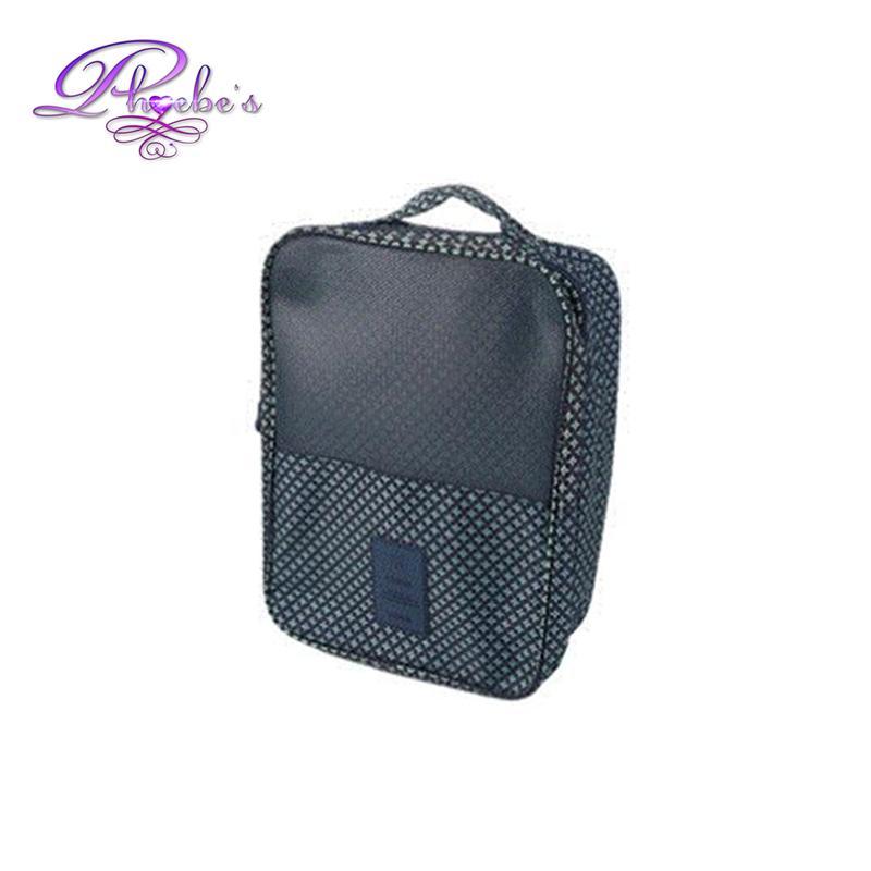 be92f2c129 Phoebes PRINTED Multi purpose 3 layer shoe bag organizer storage travel  portable shoe case Unisex for