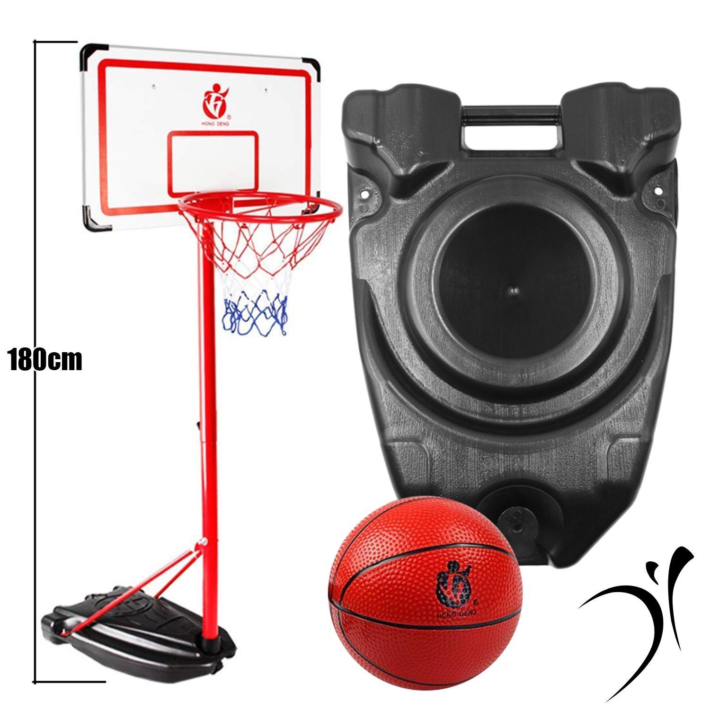 180CM Hong Deng Backboard Children Outdoor Indoor Mobile Basketball Hoop  Stand cc6e8b0ffa965