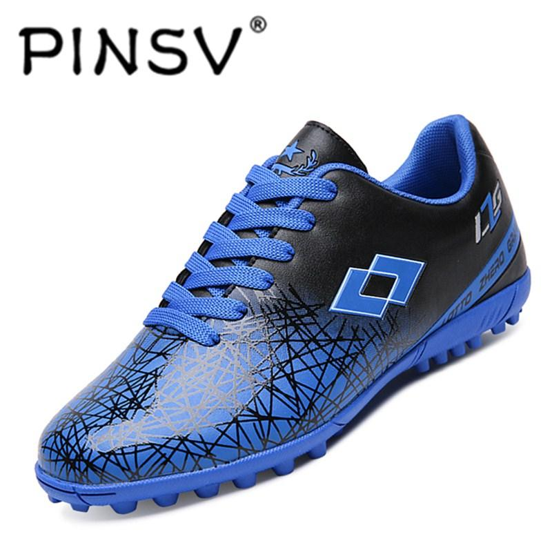 4467141ce29 PINSV Little Big Kids Soccer Shoes Football Shoes Indoor Football Boots -  intl