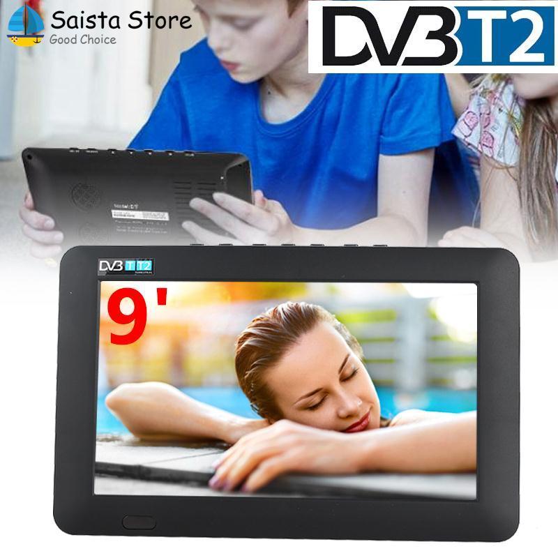 Saista Digital Analog Tv Portable Car Tv 9 Inch 16:9 Television Office Hdmi By Saista Store.