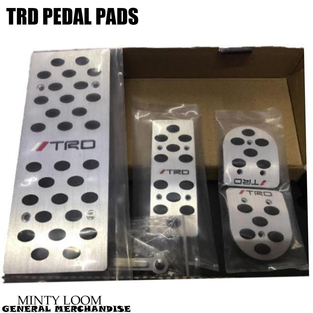 Trd Pedal Pads For Manual Transmission By Minty Loom General Merchandise.