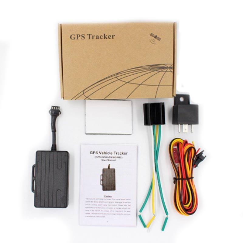 Vehicle Car GSM SMS GPRS GPS Tracker Real Time Locator Waterproof  Anti-thief Tool LK210