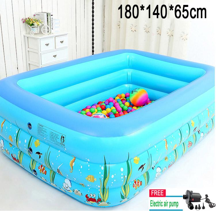 Kids Baby Children Swimming Pool Inflatable Swimmingpool For 1209036cm
