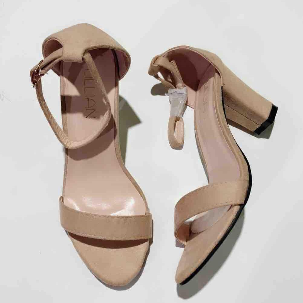 Womens Heel Shoes. 83168 items found in Heels. Korean Fashion Ankle Strap  Suede Block Heels(3 inches) 57e817f763a