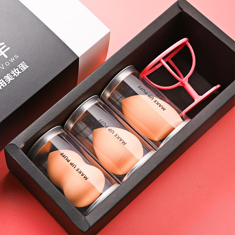 3 A X1 Box Gourd Powder Puff Wet And Dry Dual Purpose Makeup Sponge Beauty Tool Gourd Cotton Makeup Boxed Cosmetic Egg Philippines