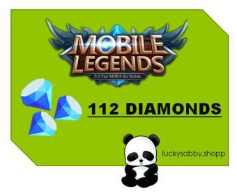 MOBILE LEGENDS 112 DIAMONDS